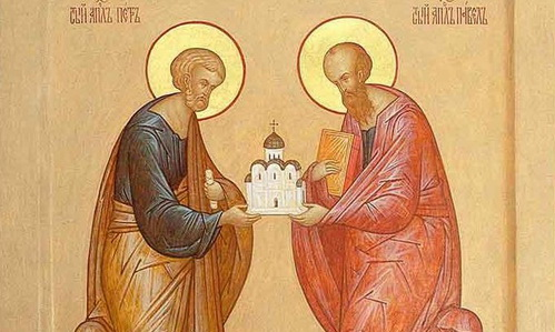 12 июля - день памяти Первоверховных Апостолов Петра и Павла